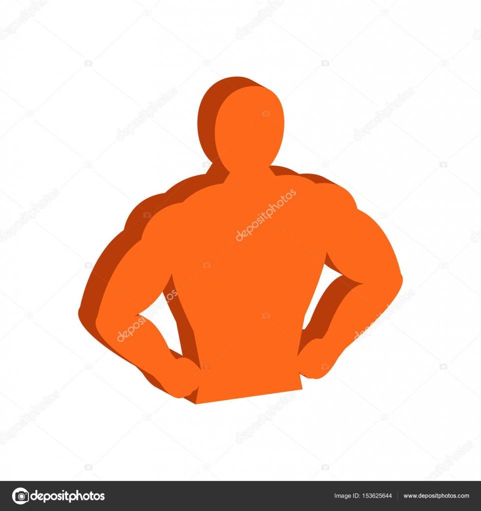 Muscle body bodybuilding fitness symbol flat isometric icon o muscle body bodybuilding fitness symbol flat isometric icon o stock vector biocorpaavc