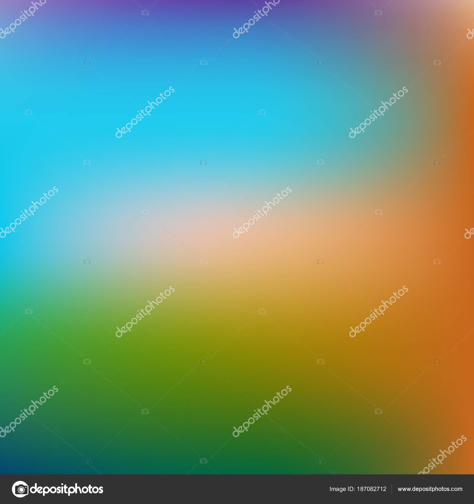 Abstract square gradient blurred background. Easy editable color ...