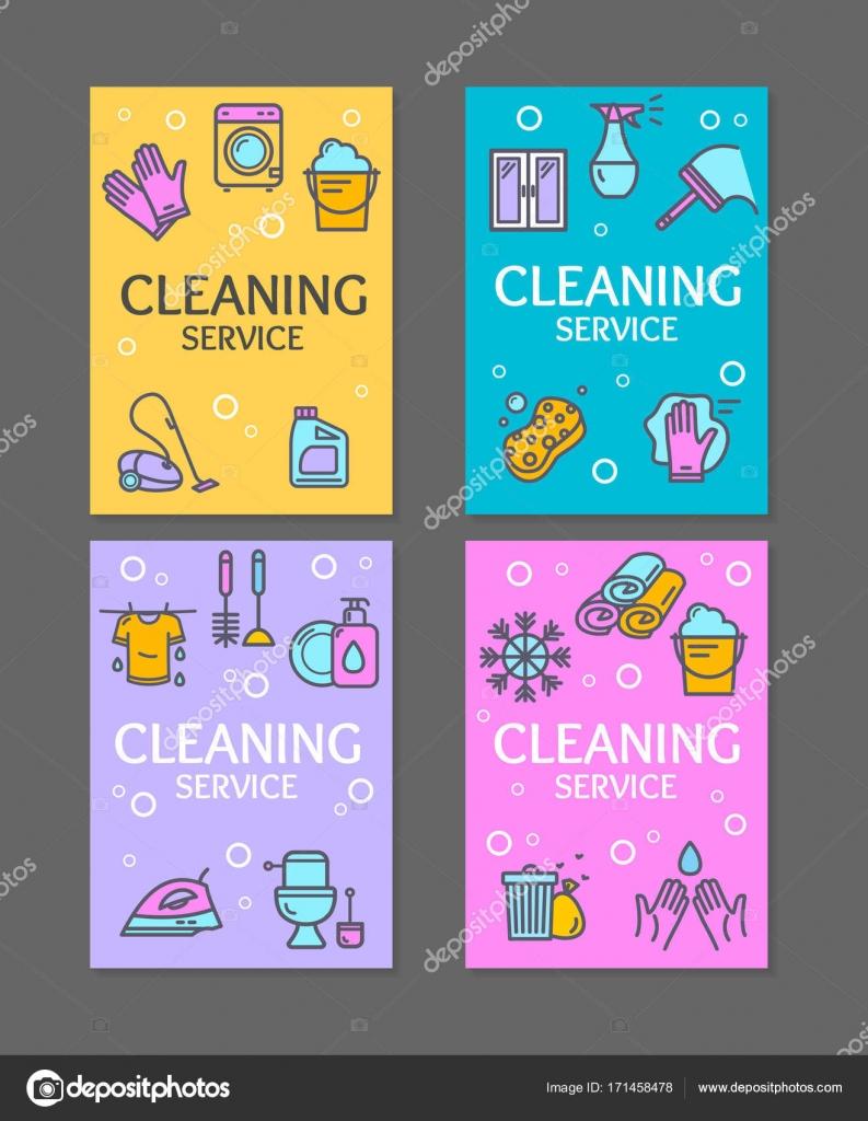 Carteles De Limpieza En El Trabajo Hogar Y Limpieza Herramientas