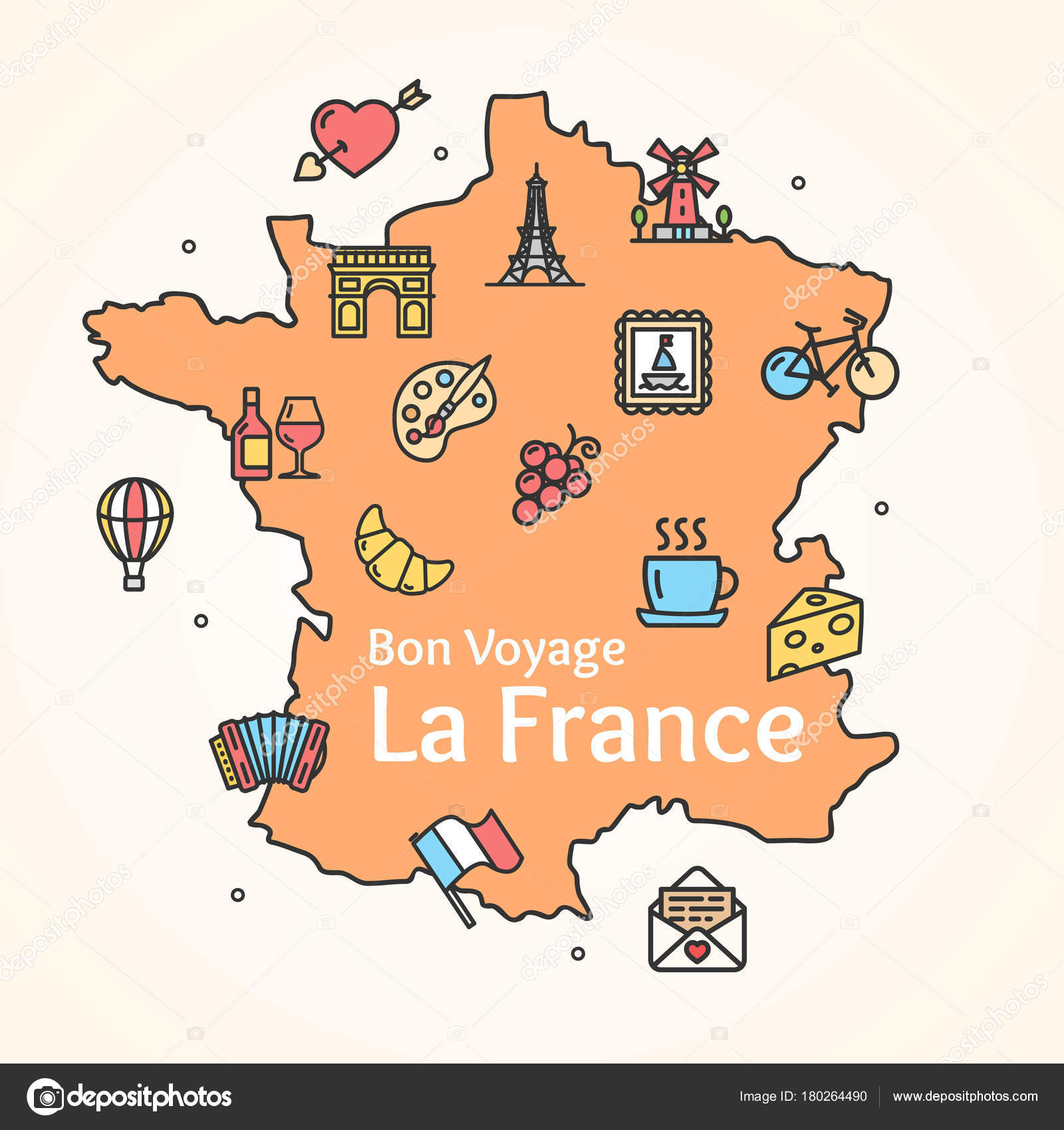 Free france powerpoint map free powerpoint templates.