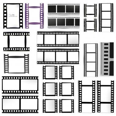 film, movie, photo, filmstrip set of film frame,  illustration