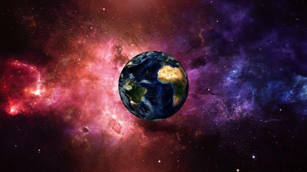 Planeta Země letět do vesmíru