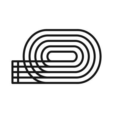 running tracks illustration design