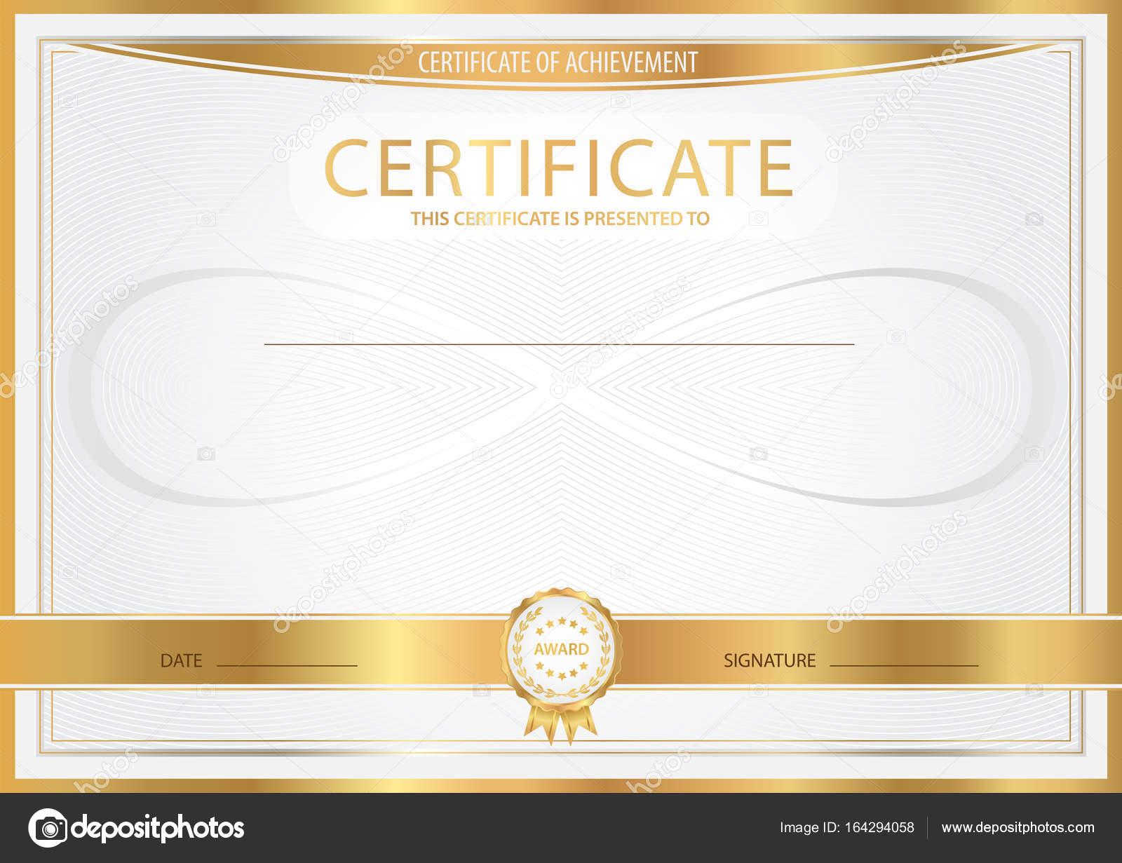 Zertifikat, Abschlusszeugnis (abstrakte Design-Vorlage, Hintergrund ...