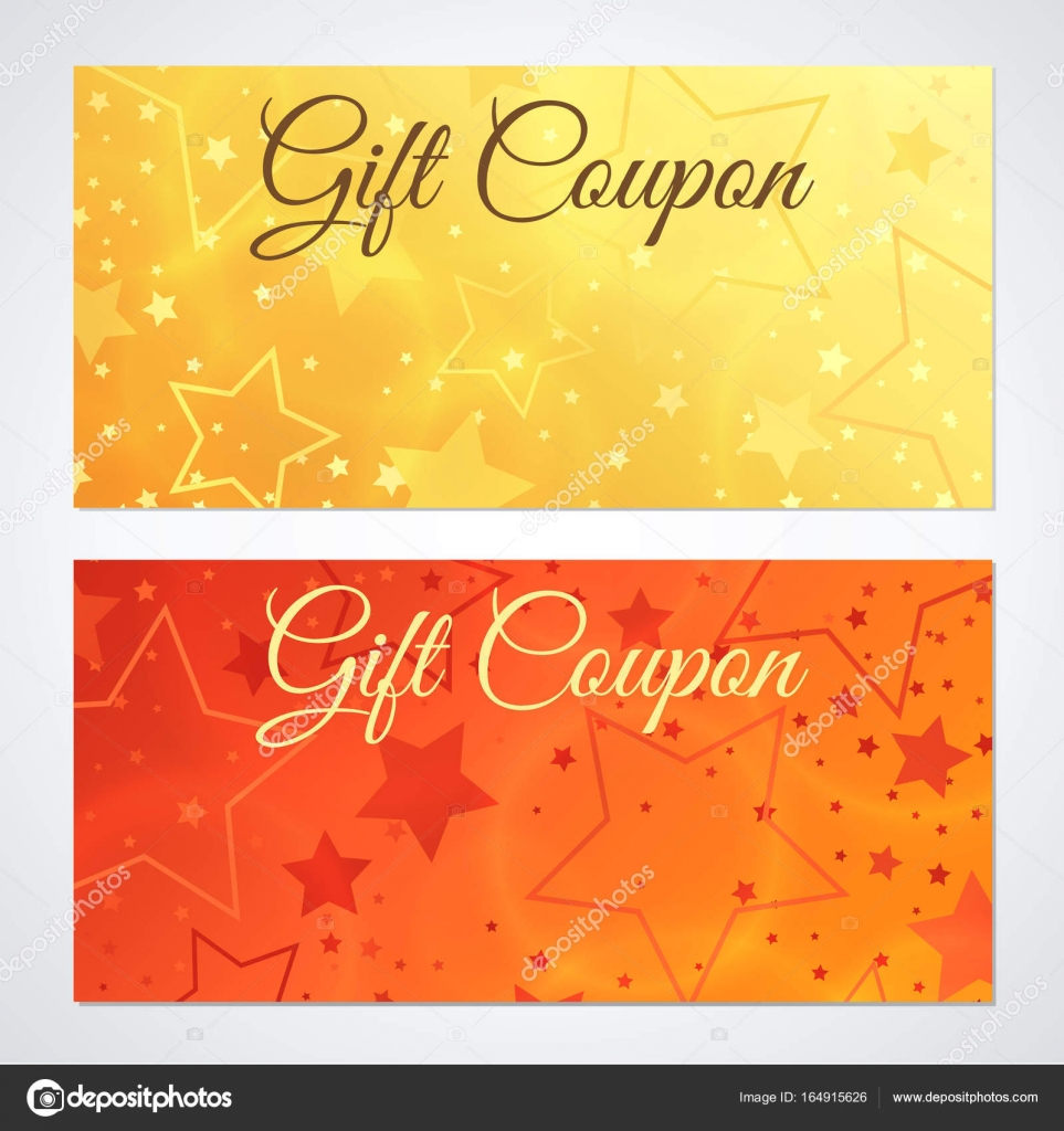 Gift certificate, Voucher, Coupon, Invitation or Gift card Discount ...
