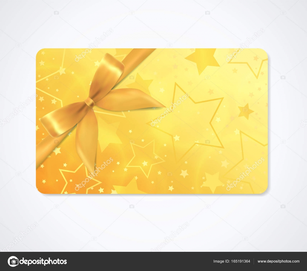 Gift Card Gift Coupon Discount Gift Voucher With Sparkling