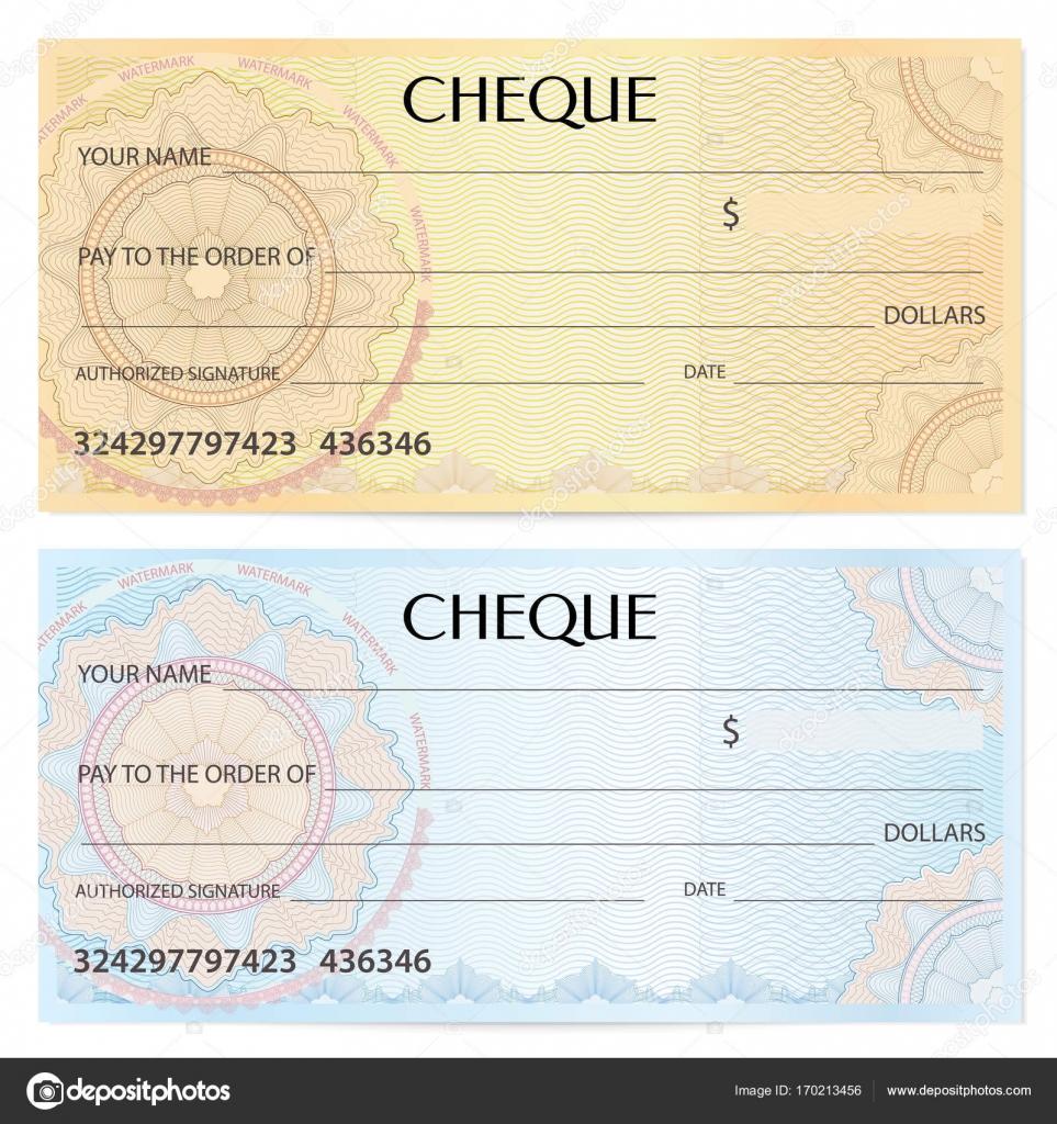 Voucher Check Template | Check Cheque Plantilla De Cuenta De Tesoreria Patron De Labrada