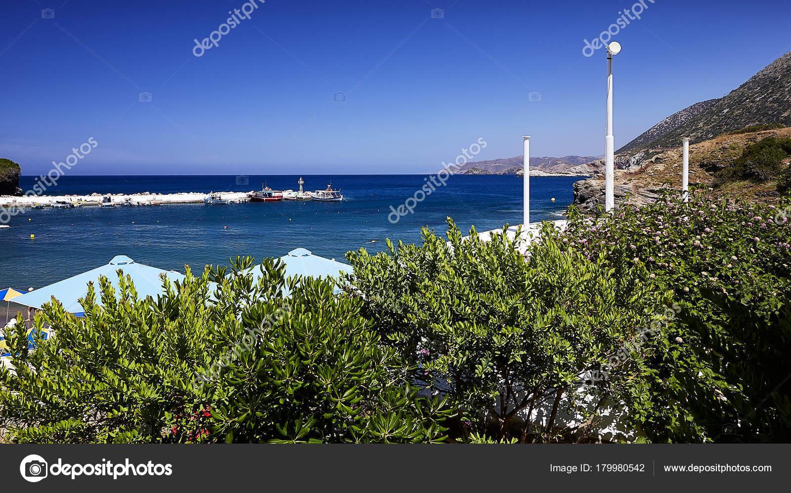 Seaview Bali Village Crete Island Greece Stock Photo C Helgapreiman 179980542