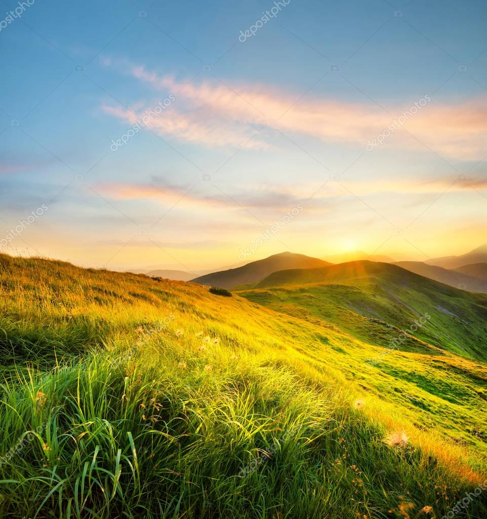 Beautiful natural landscape