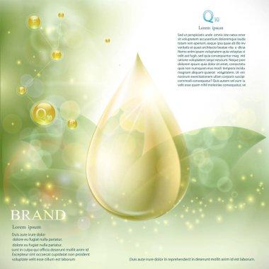 Drop with coenzyme Q10 serum essence.