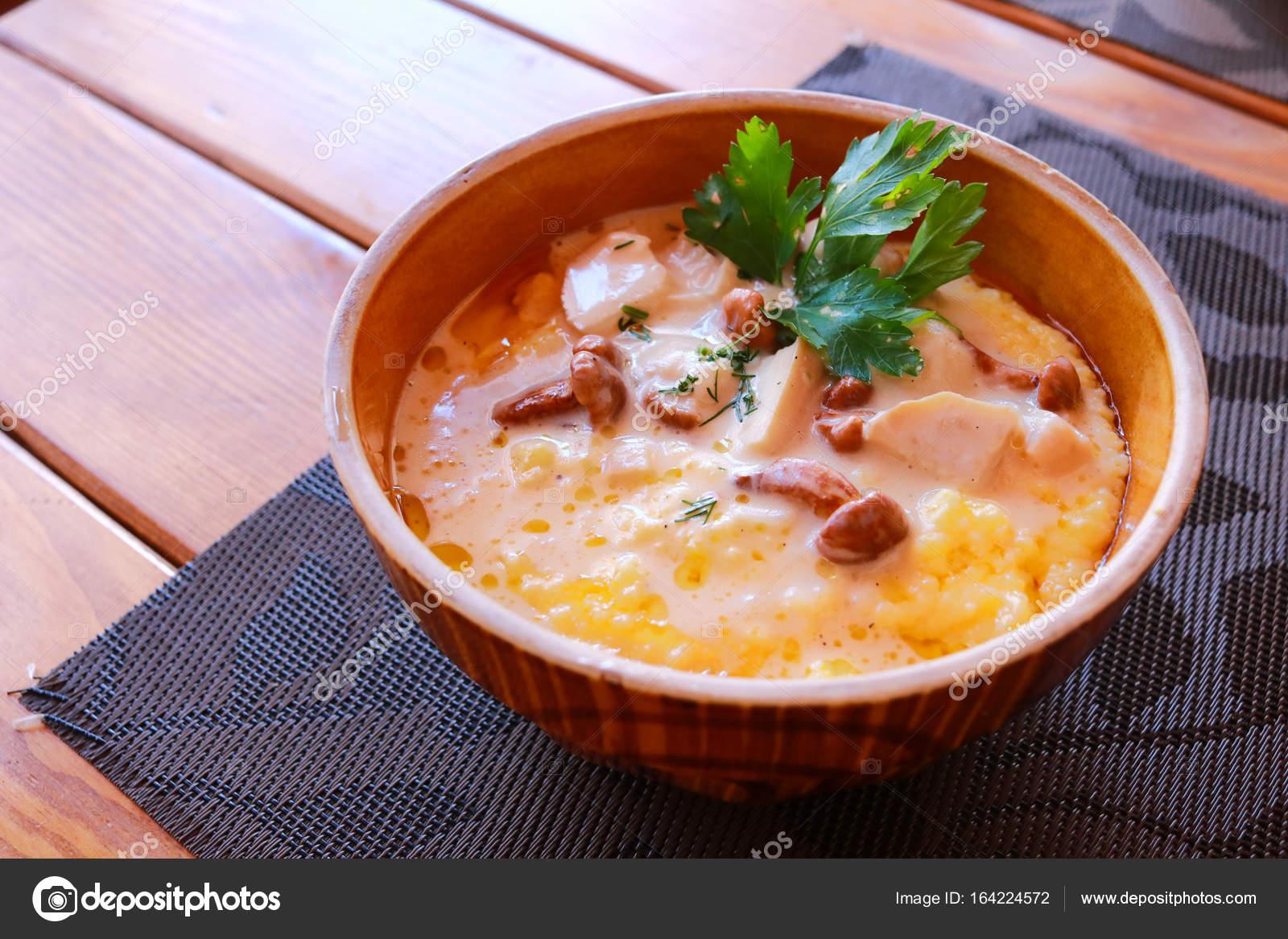 Kabak ile mısır lapası: tarif