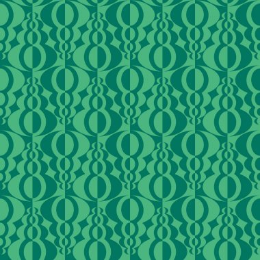 Abstract contrasting design. Vector seamless pattern.