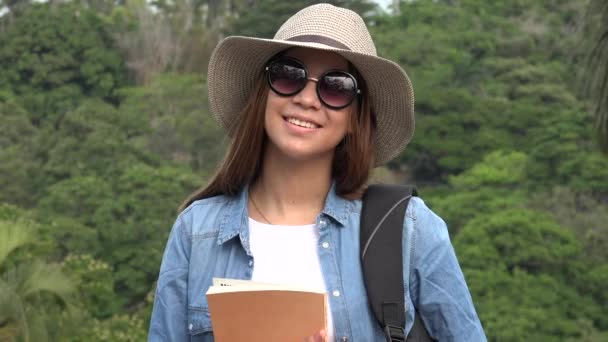 Teen Girl With Sunglasses In Summer