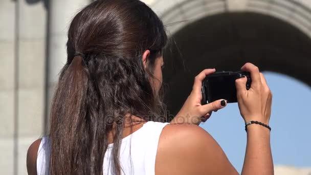 turisztikai bevétel fénykép-val fényképezőgép