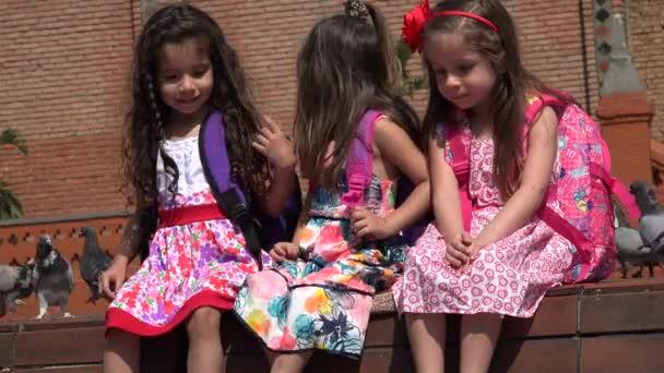 School Children Pretty Girls