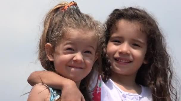 Children Girls Friends