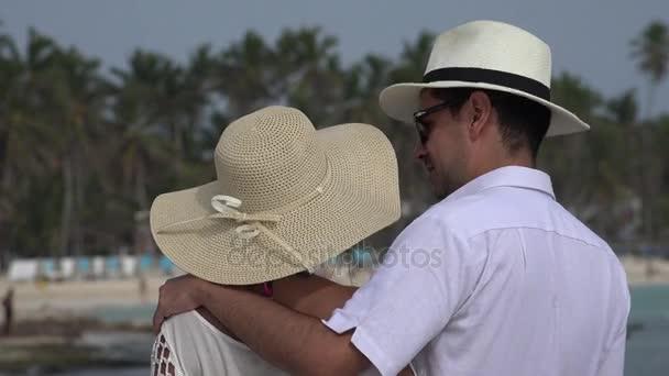 Romantica coppia sposata