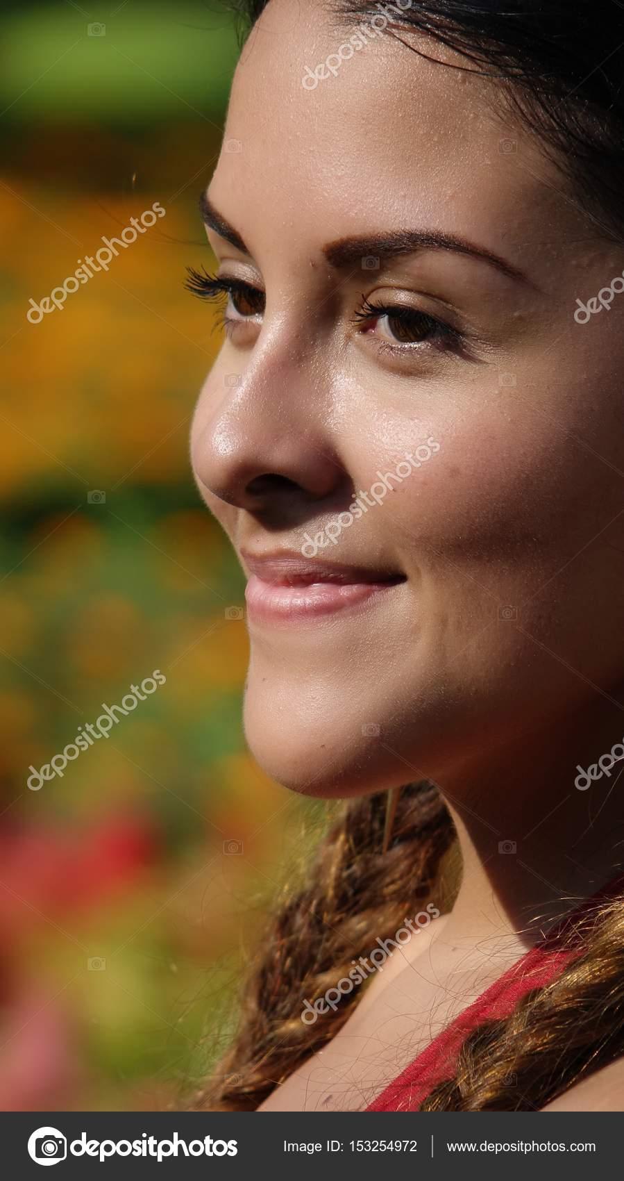 teen Real facial young
