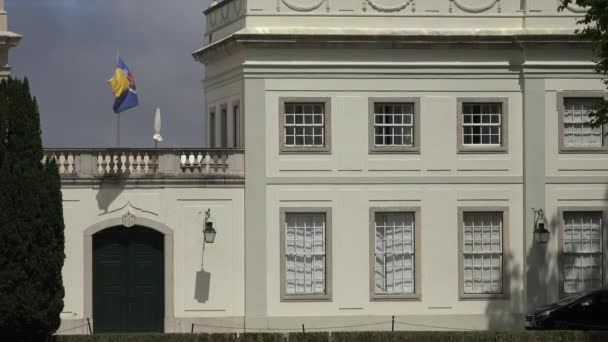 Windows Of Mansion Or Estate