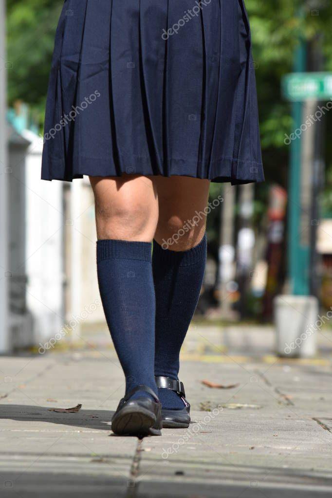 Teenager In Socken
