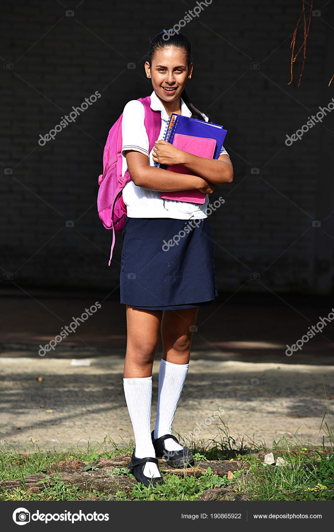 For that Pics of young girls in school uniform
