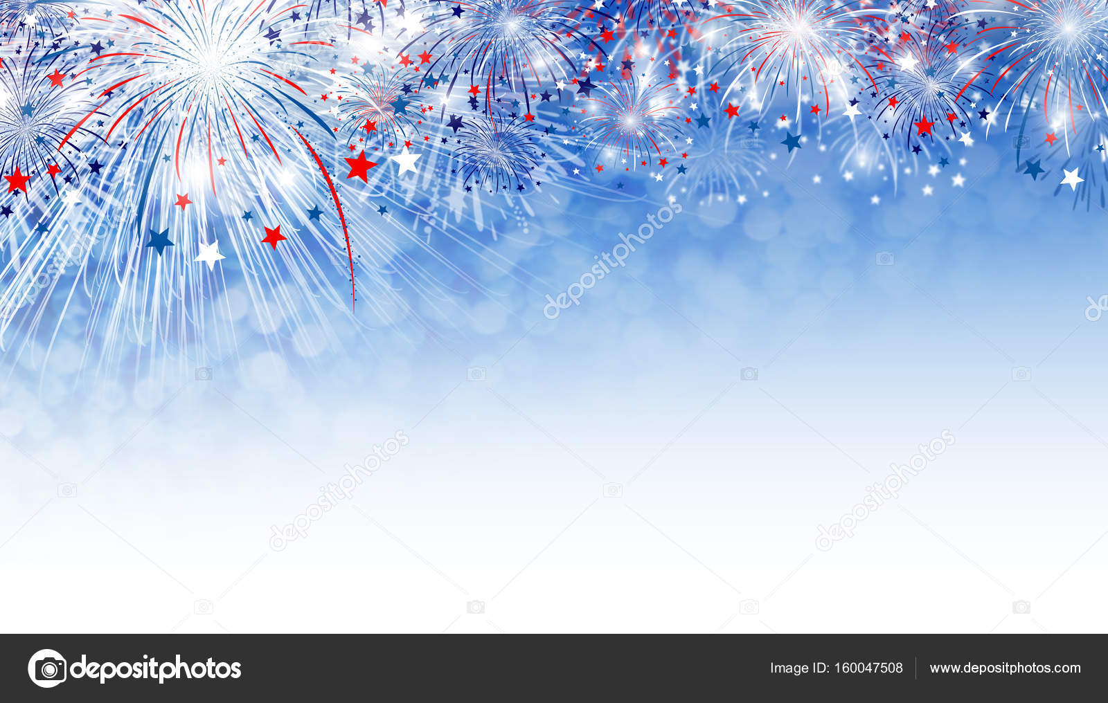 Fireworks Background Design With Copy Space Stock Photo Image By C Myimagine 160047508