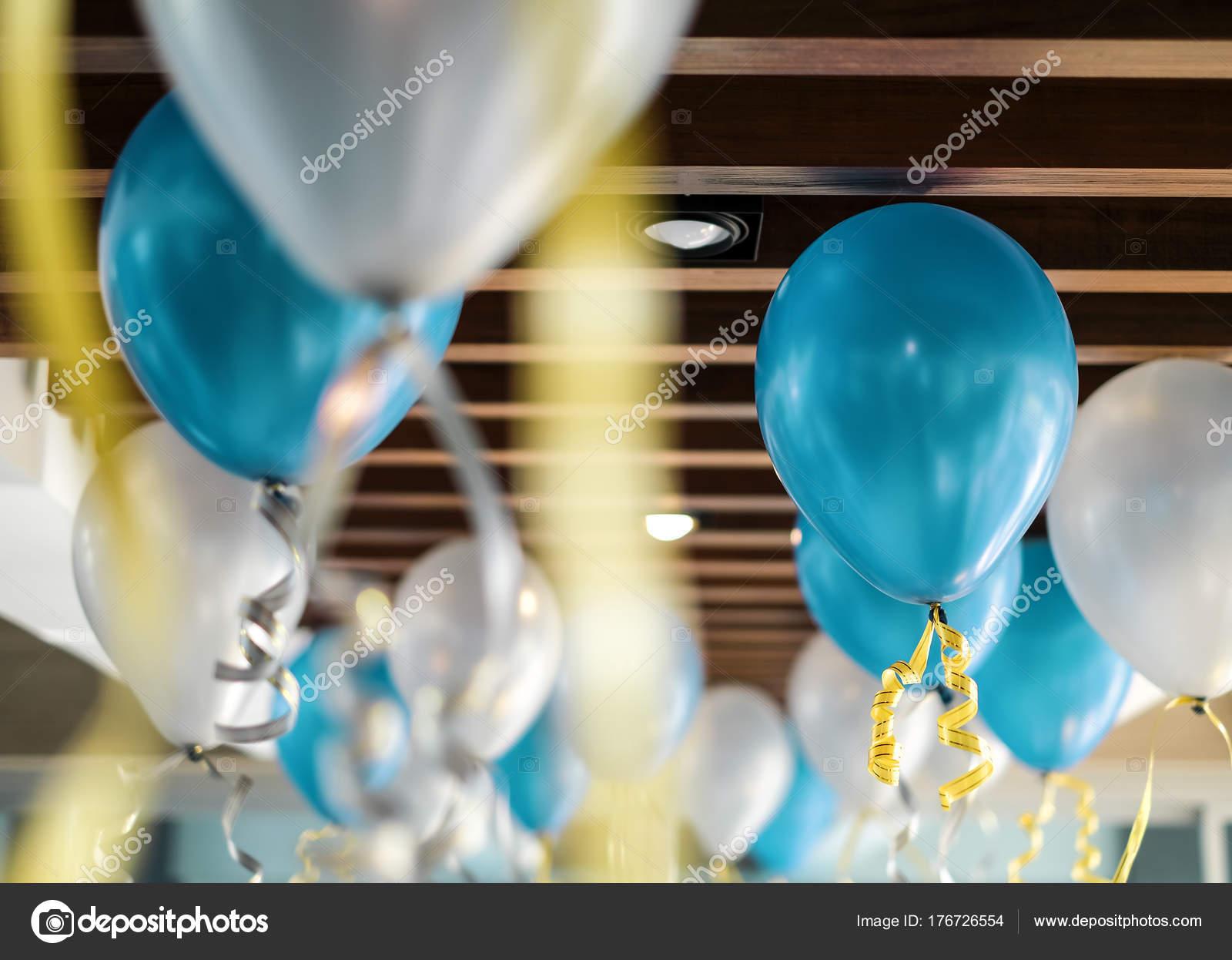 Decoração De Balão No Teto No Partido Fotografias De Stock