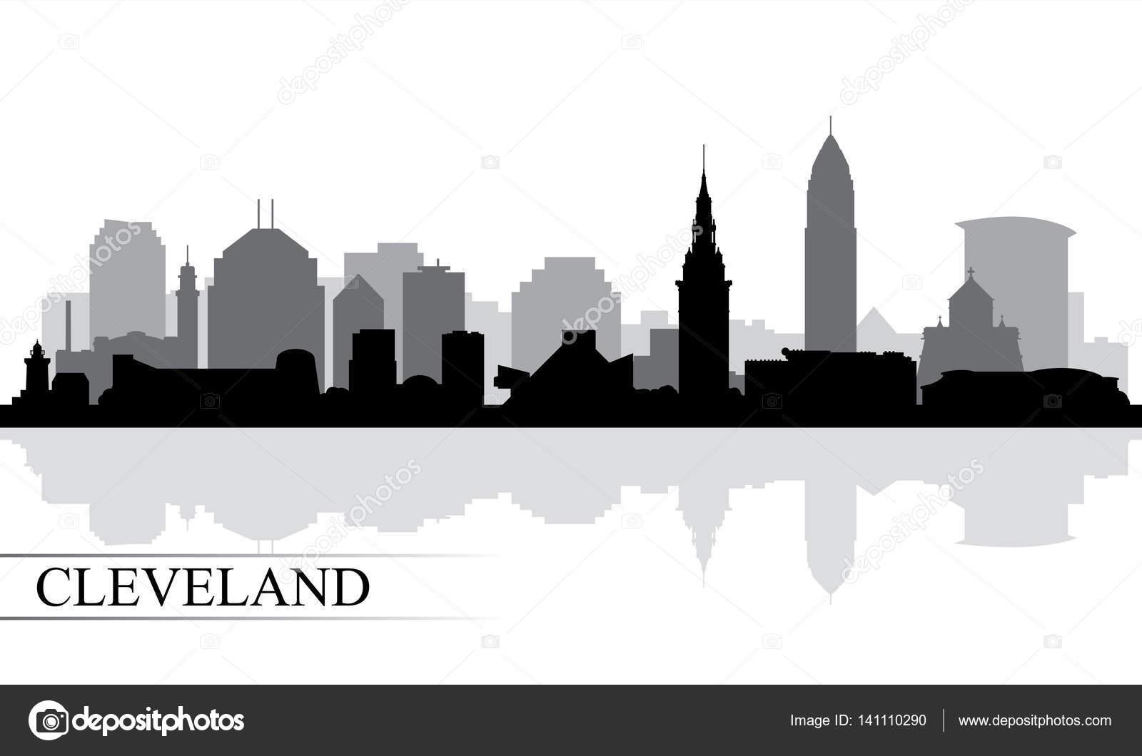 cleveland skyline wallpaper