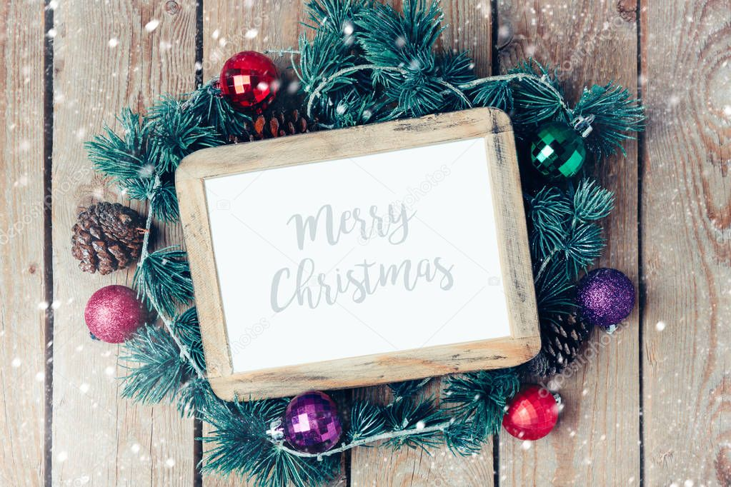 Weihnachten Fotorahmen.Weihnachts Fotorahmen Stockfoto Maglara 129478354