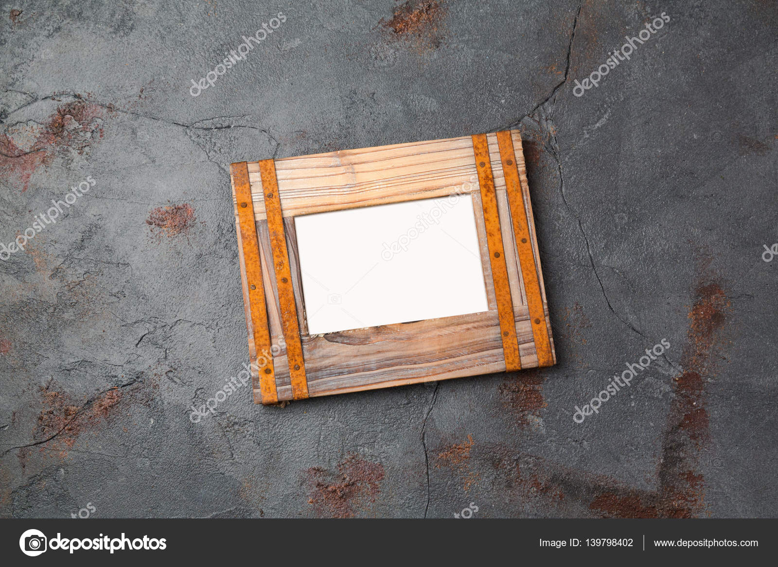Rustikale Vintage Bilderrahmen — Stockfoto © maglara #139798402