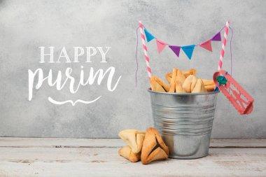 Purim holiday greeting card