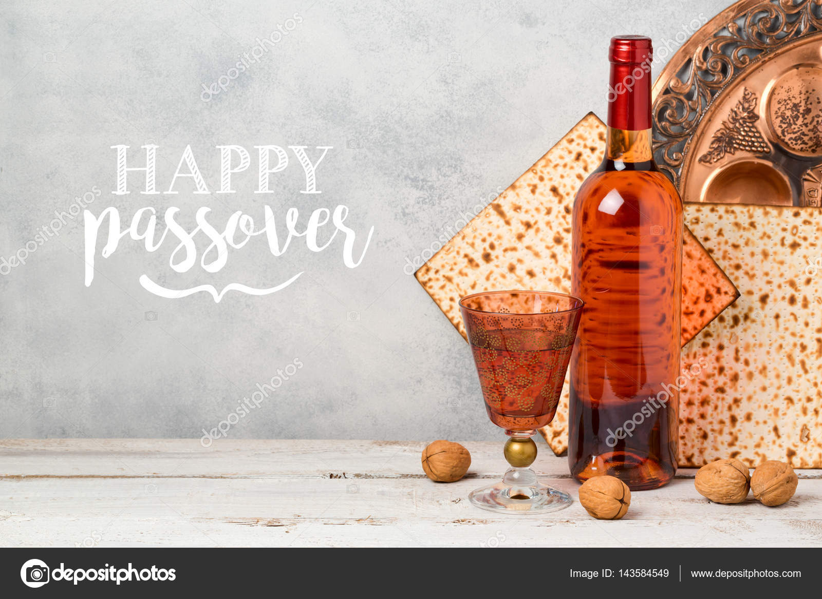 Passover holiday greeting card stock photo maglara 143584549 passover holiday greeting card stock photo kristyandbryce Images