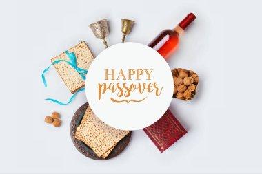 Jewish holiday Passover banner