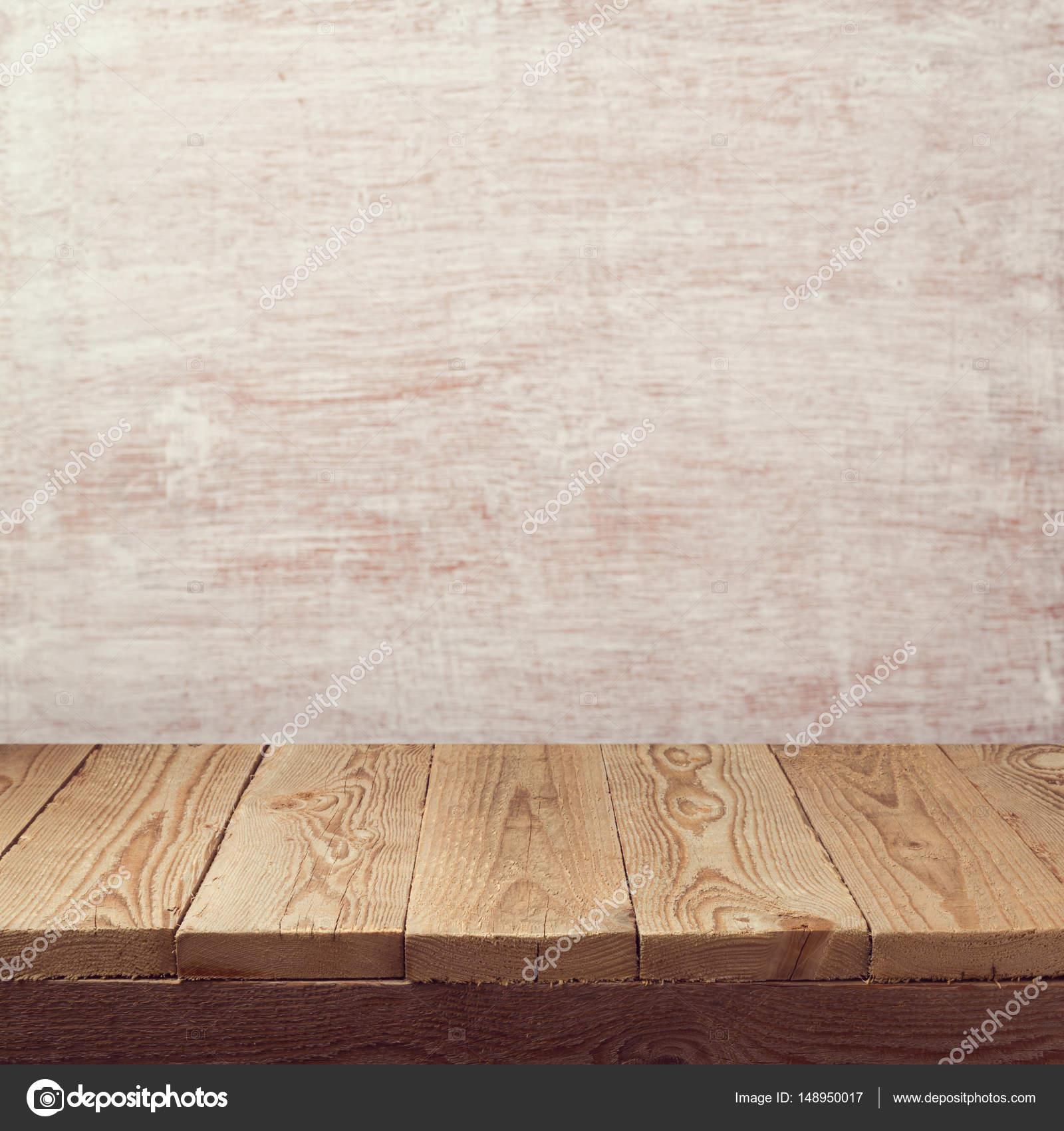 Leere Holzbrett Tabelle — Stockfoto © maglara #148950017