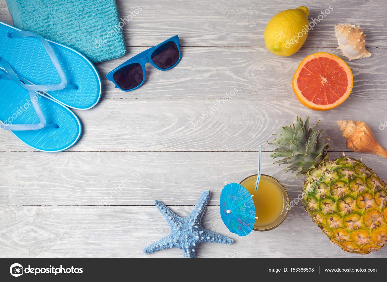 9e227d663c6a3 summer vacation background — Stock Photo © maglara  153386598