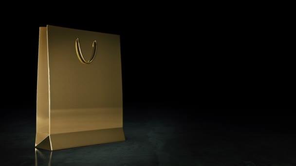 Nákupní tašky papírové izolované