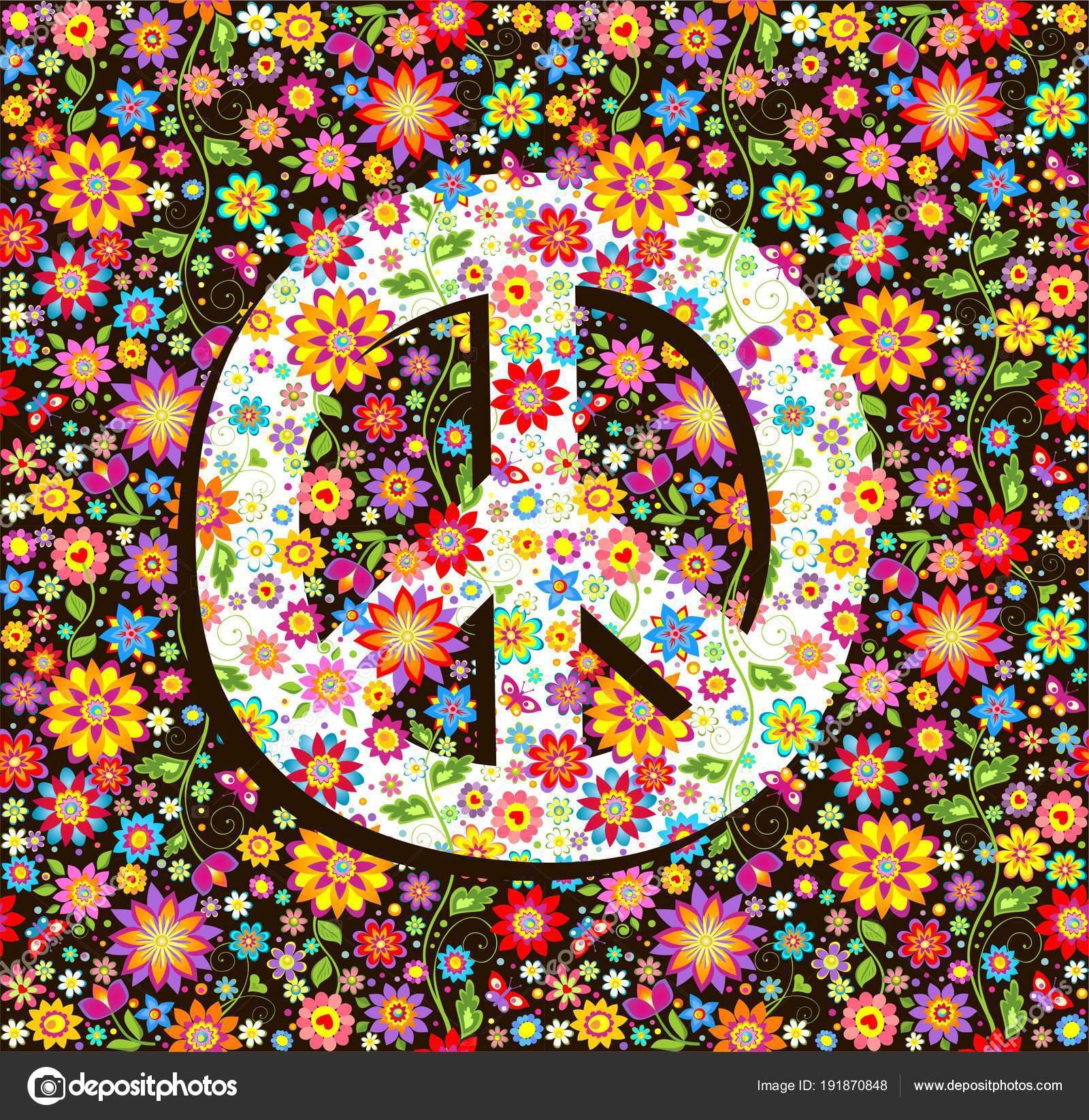 Wallpaper Of Peace: Hippie Walpaper