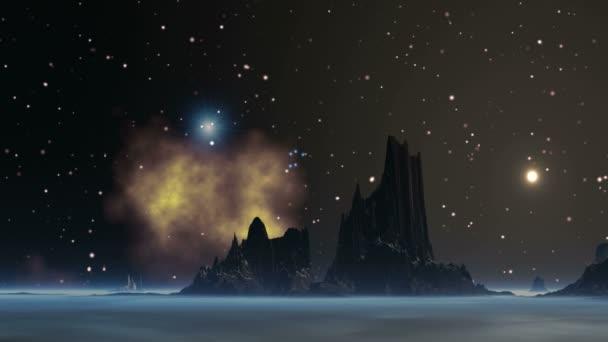 The Flotilla UFO In The Sky Alien Planet