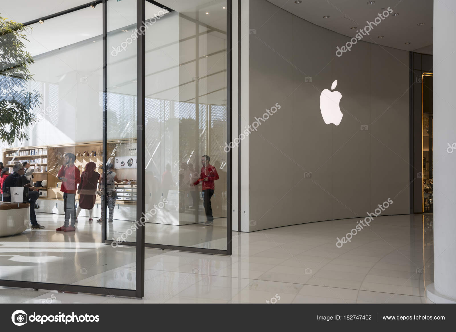 apple store in the mall