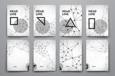 Brochures in Molecular structure style
