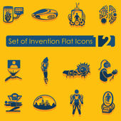 Photo Set of invention icons