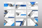 rozložení brožury designu