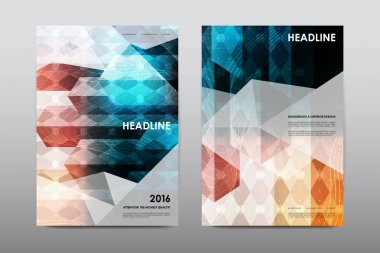layouts of design brochures