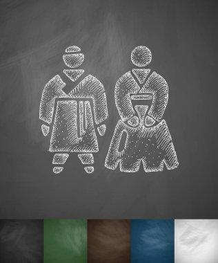 simple Koreans icon