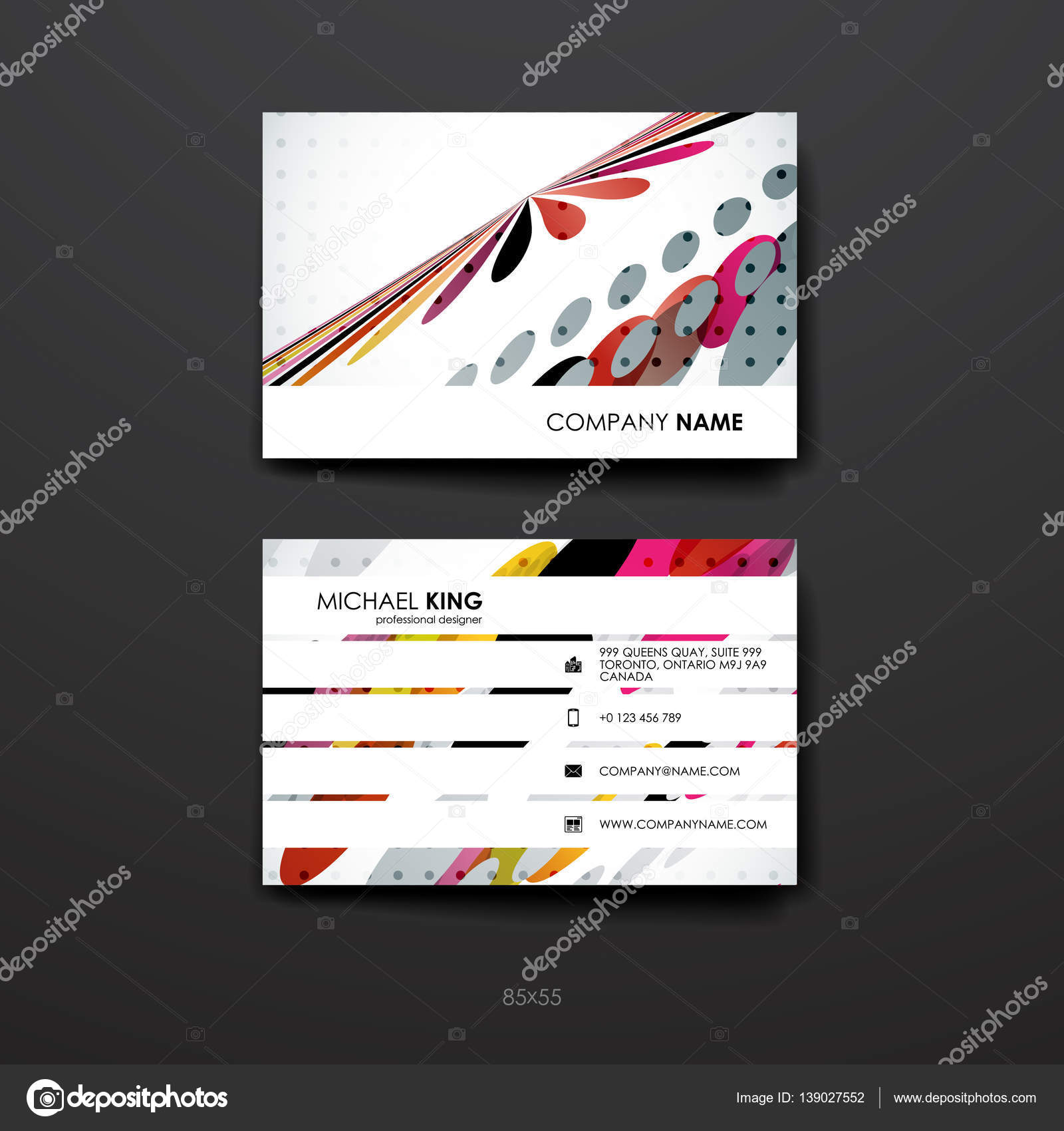 Set of brochure, poster design templates in abstract background ... for Professional Poster Design Templates  165jwn