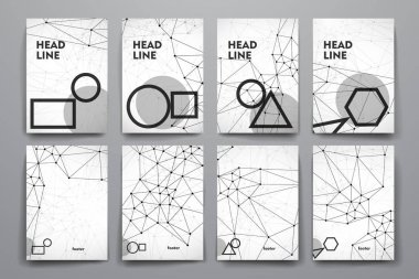 design of Set of brochure