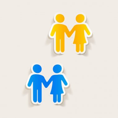 couple in love icons