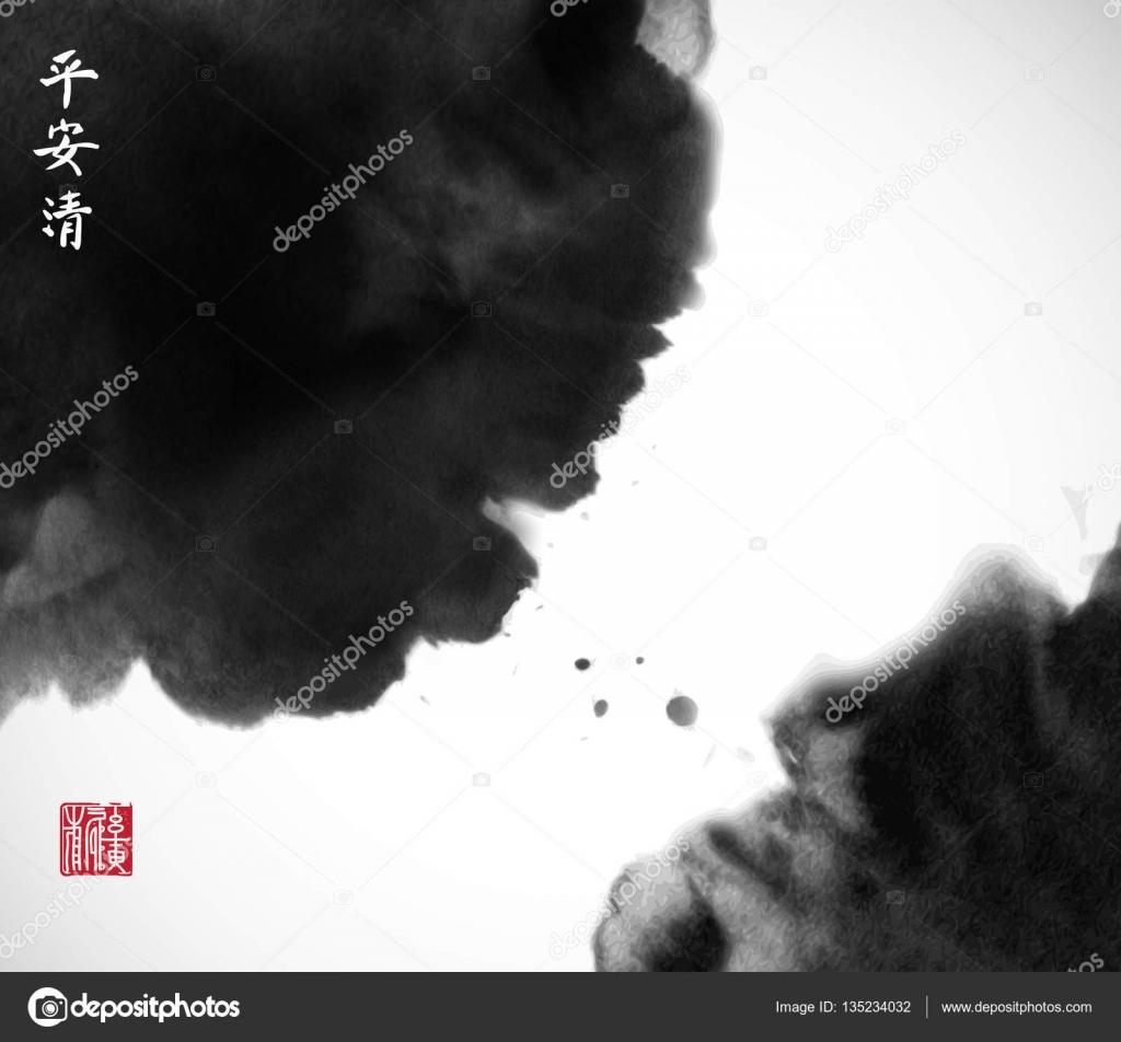big black spots — Stock Vector © Elinacious #135234032