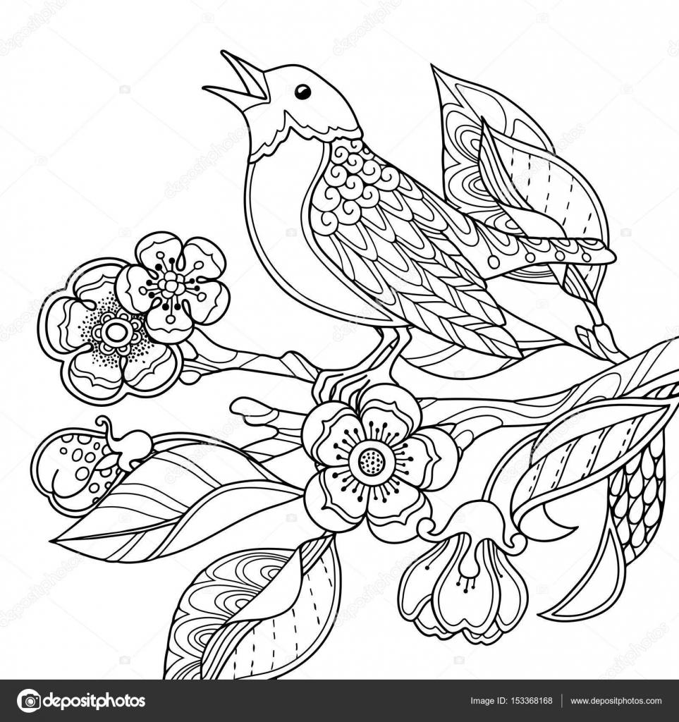 Primavera jardín composición i — Archivo Imágenes Vectoriales ...