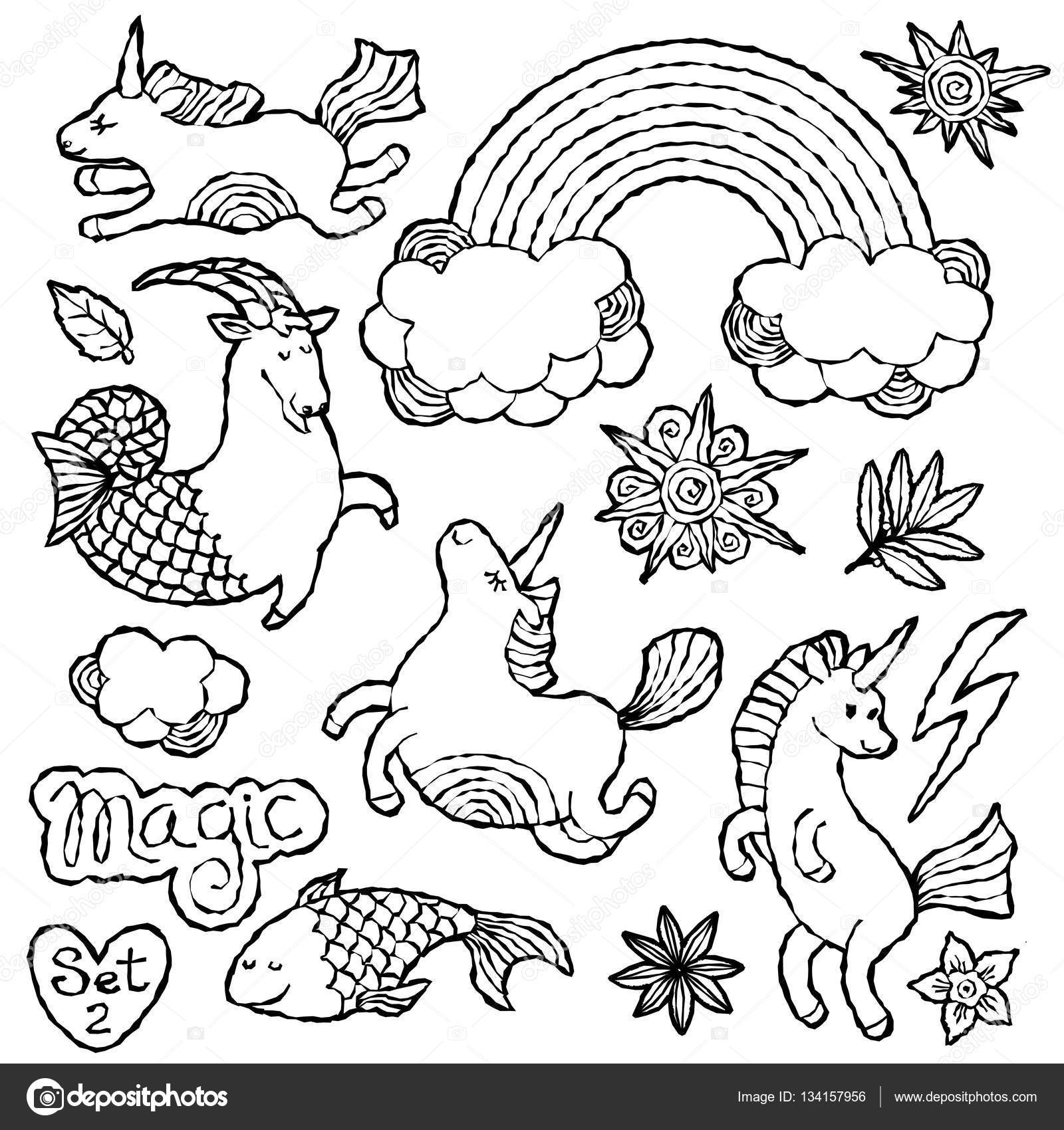patchy patch coloring pages - remendo de moda preto e branco distintivo elementos nos